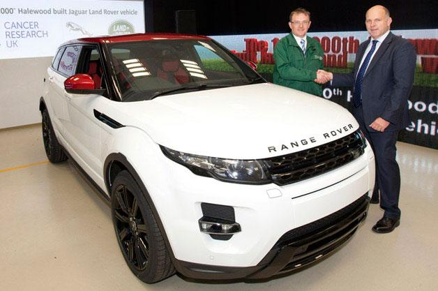 Land Rover Celebrates 1 000 000 Vehicles Built At Halewood Joe Farace Shoots Cars